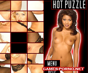 Erotic puzzle for undressing real girls