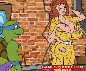TMNT the game is an orgy with the ninja turtles