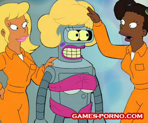 Futurama sex parody in erotic swf game