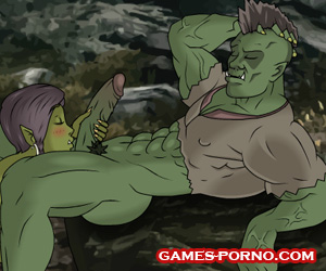 Porn game about Dovakin and orc girls - Skyrim